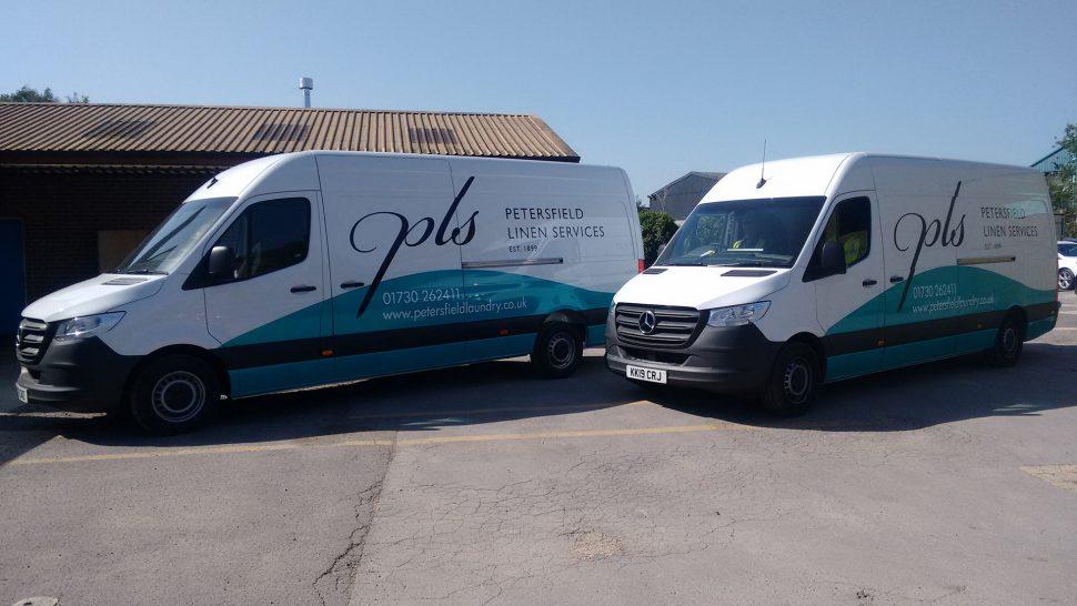 New fleet vans